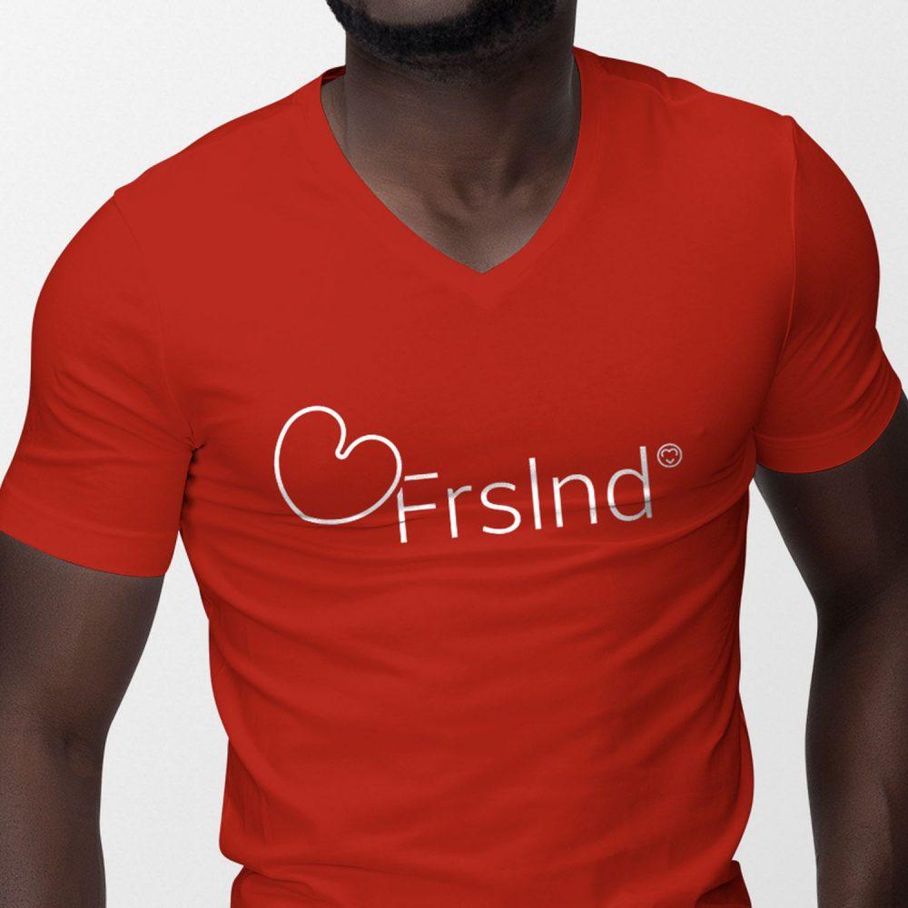 Frslnd T-shirt  heren